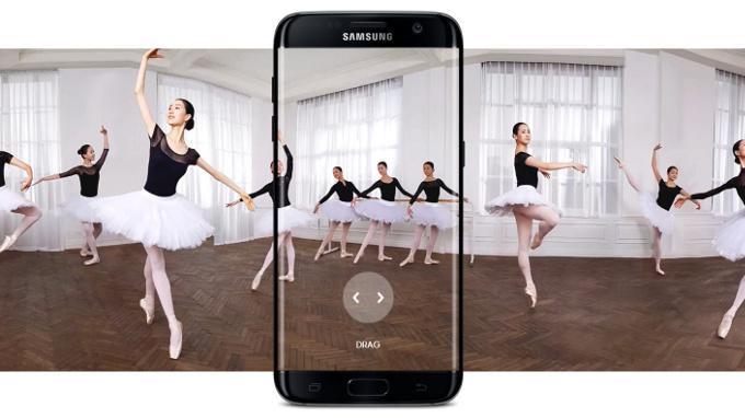 6 новых возможностей Samsung Galaxy S7 Edge, которых нет в других смартфонах - Анимированная панорама