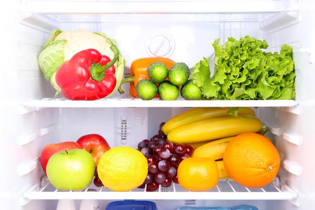 Холодильник-Полки с решетками