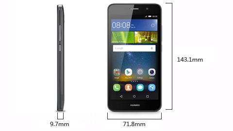 Huawei Y6 Pro габариты