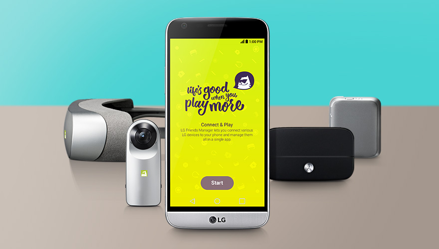 LG G5-LG Friends Manager