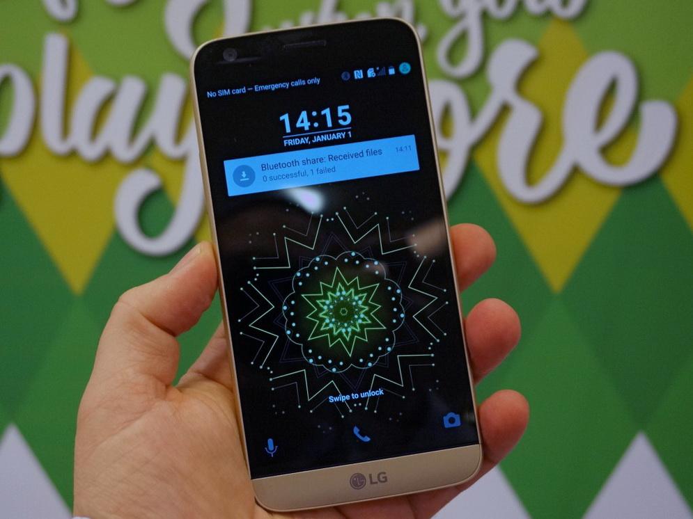LG G5-экран фото 2