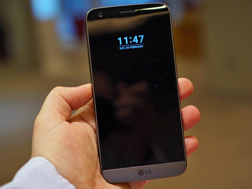 LG G5-экран