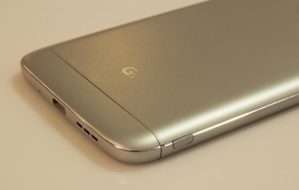 LG G5-логотип на тыльной панели
