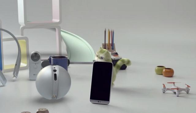 LG G5 с аксессуарами