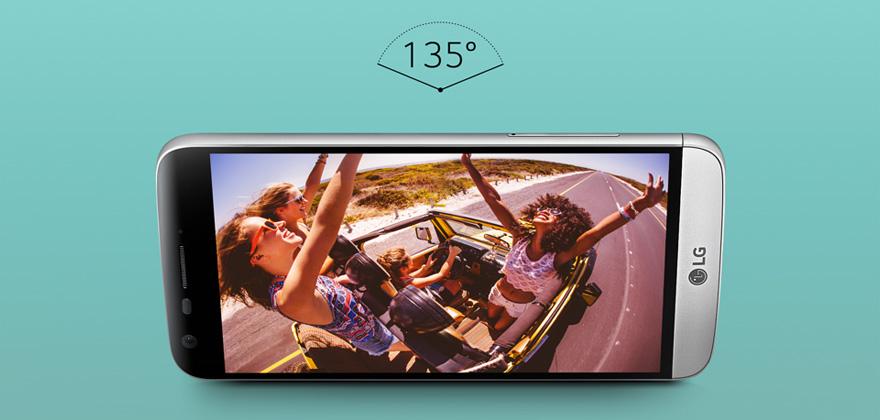 LG G5-широкоугольный объектив