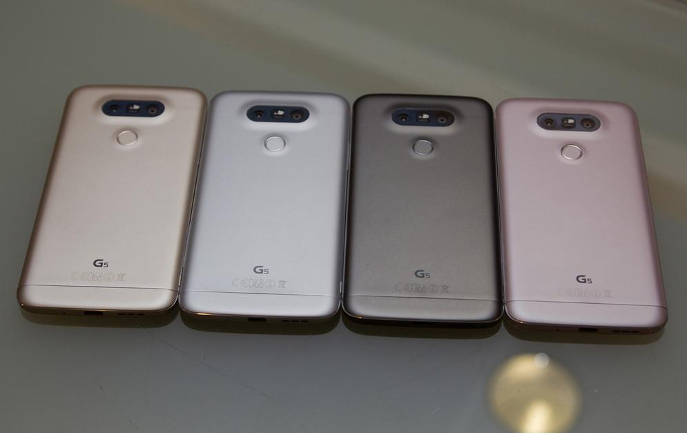 LG G5-выбор расцветок фото 2
