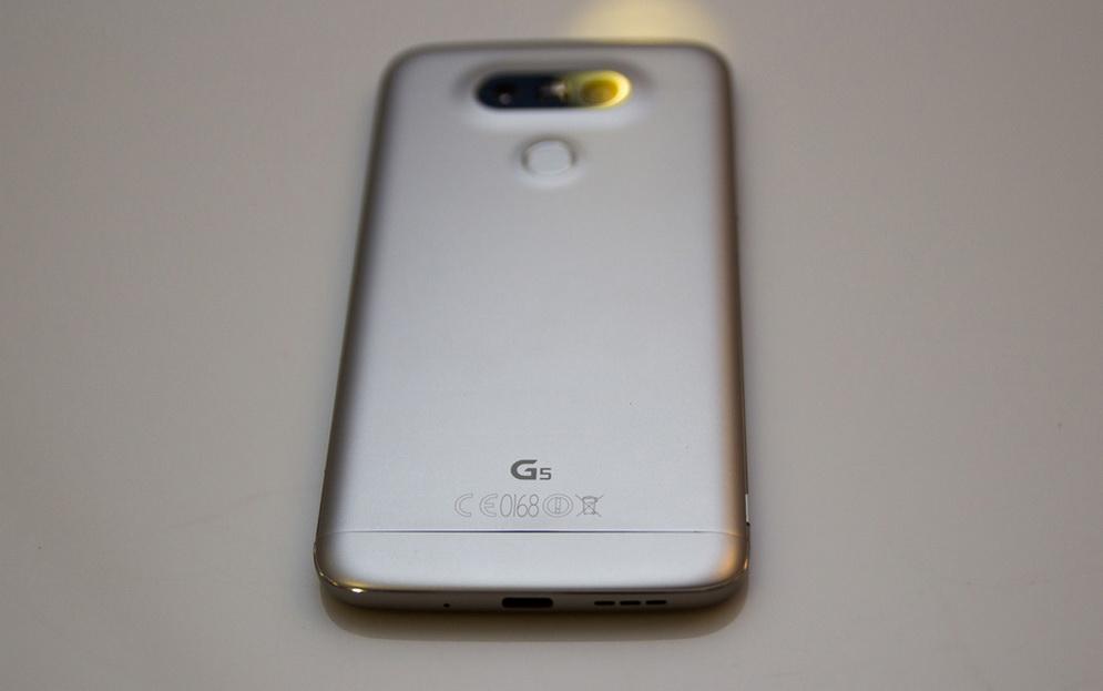 LG G5-задняя панель