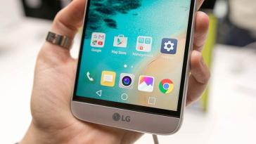 LG UX5 Главная