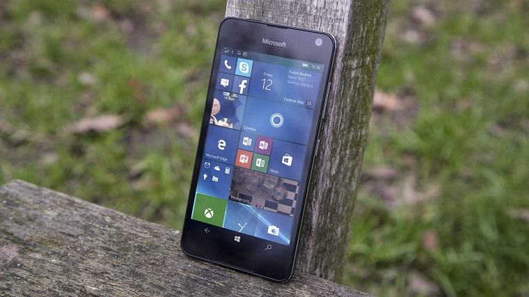 Lumia 650 Display