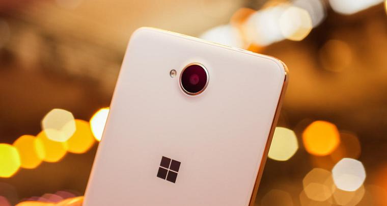 Lumia 650 back camera