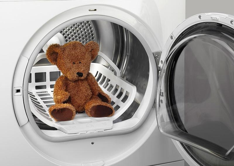 Маленькие дети и стиральная машина