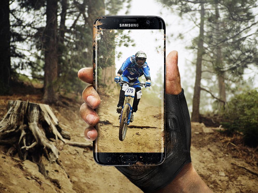 Новые флагманы Samsung Galaxy S7-защита от грязи