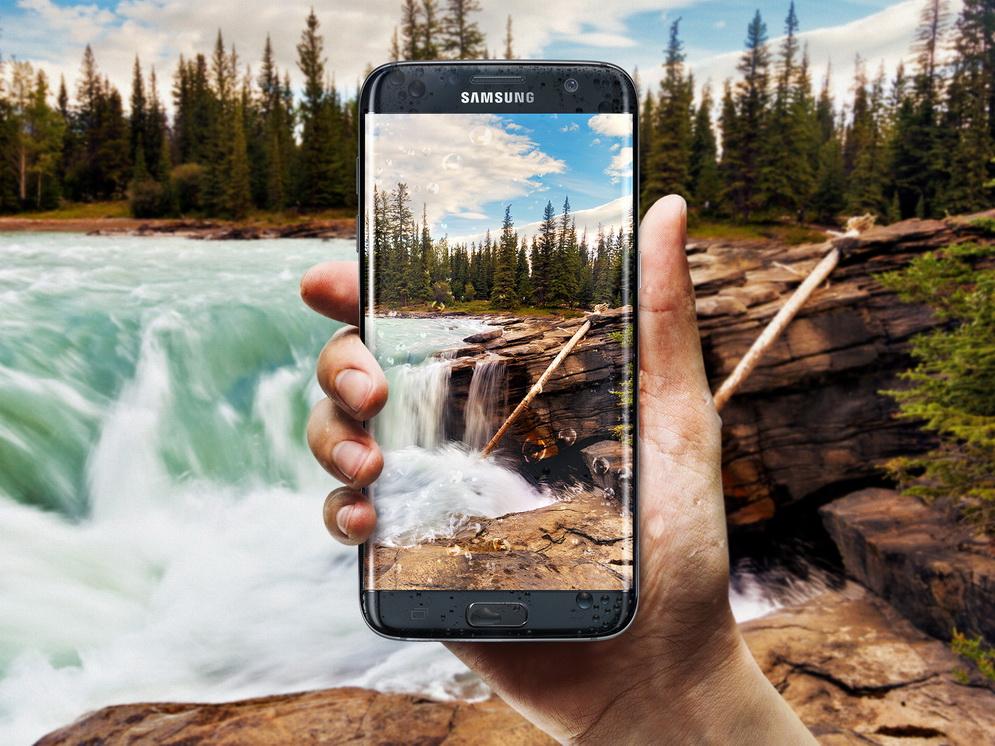 Новые флагманы Samsung Galaxy S7-защита от воды