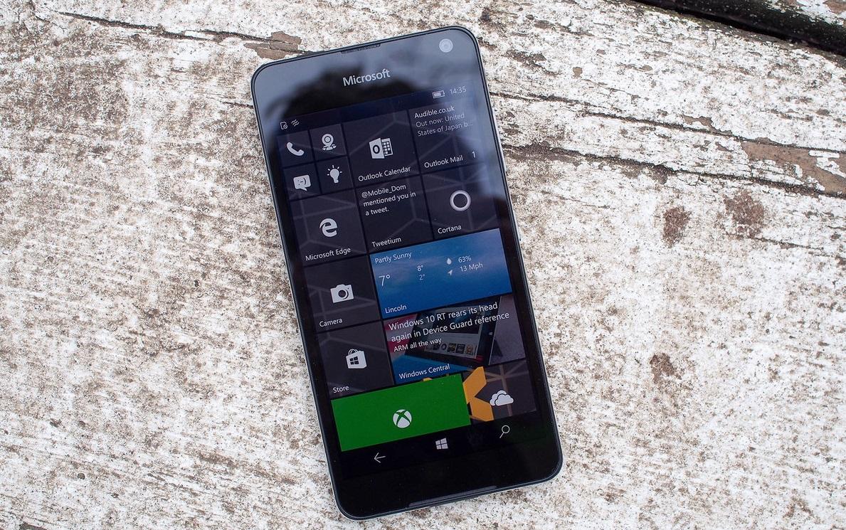 Обзор Microsoft Lumia 650 - операционная система