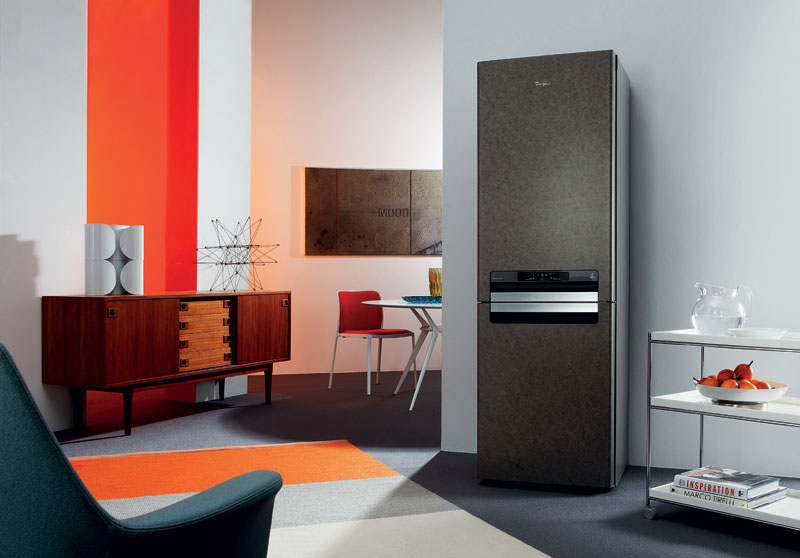 Отдельно стоящий холодильник- 2 В интерьере