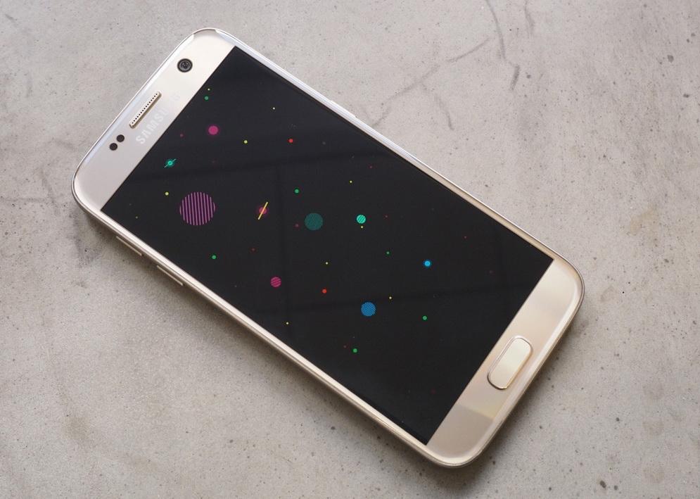 Samsung Galaxy S7-экран фото 1