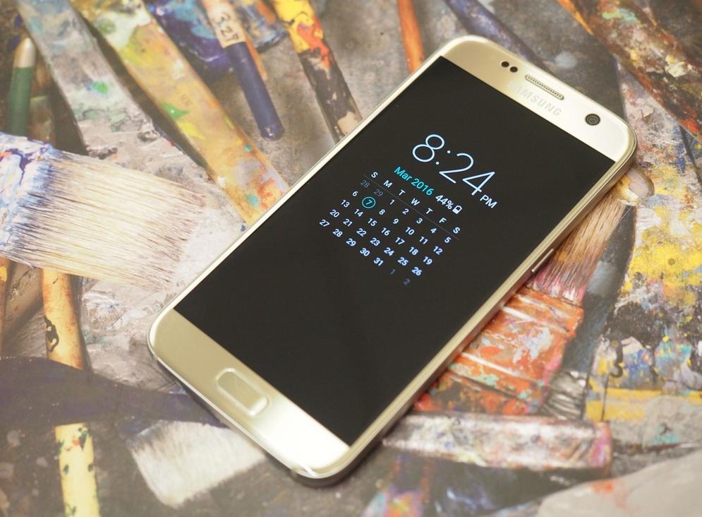 Samsung Galaxy S7-календарь