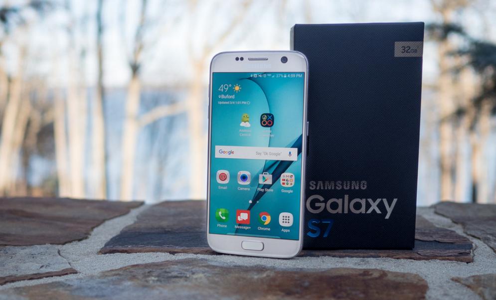 Samsung Galaxy S7-с упаковкой