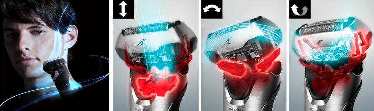 новая линейка обладаеет мультигибкой 3D головкой