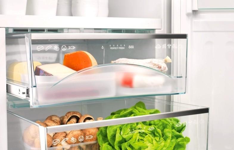 Зона свежесть в холодильнике