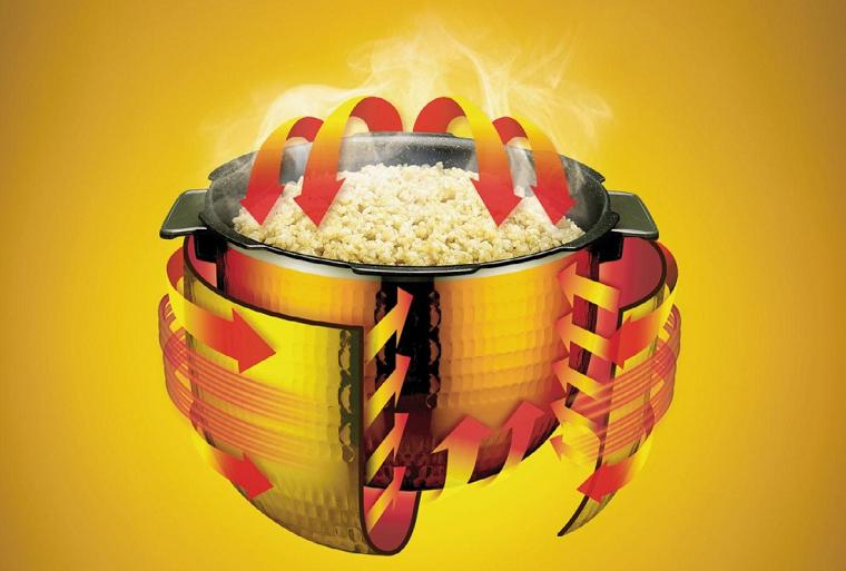 3D-нагрев в мультиварке