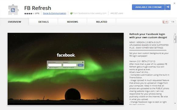 5 приложений и плагинов для Facebook, о которых не все знают - Facebook ReFresh