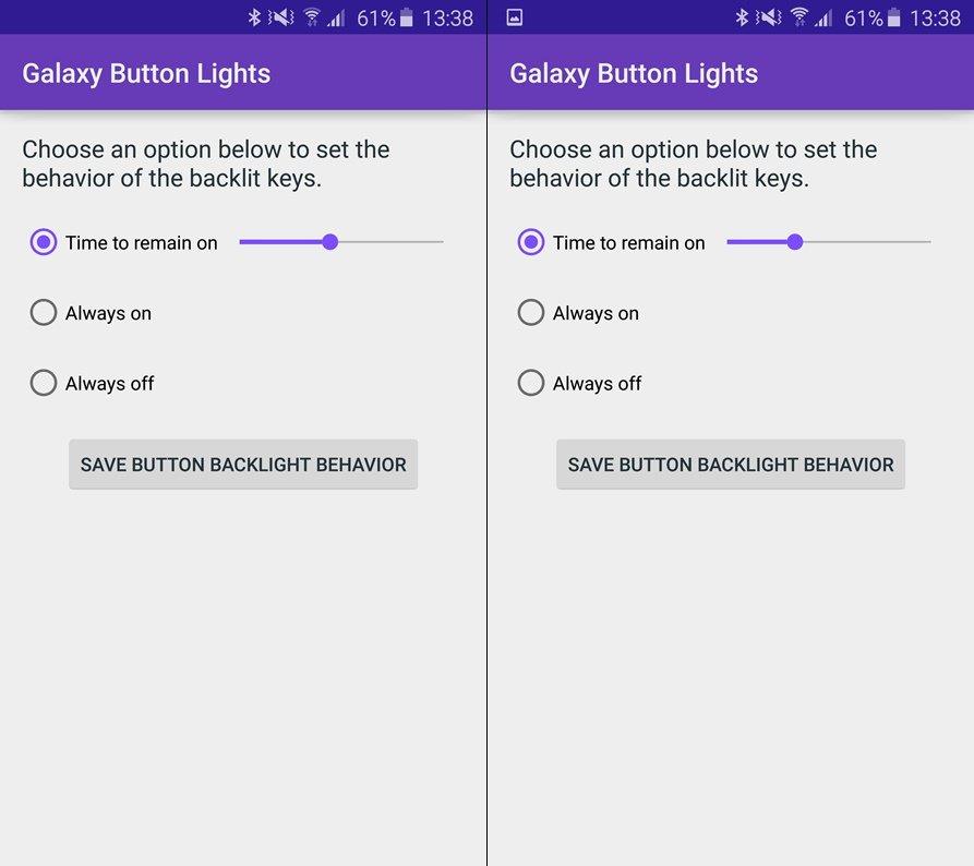 8 секретов Samsung Galaxy S7 and S7 Edge - Управление подсветкой клавиш