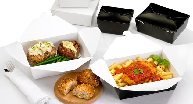 Бумажная тара для еды
