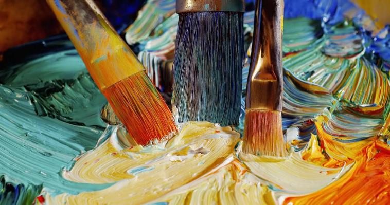 Побутове мистецтво: сучасна техніка на картинах великих майстрів