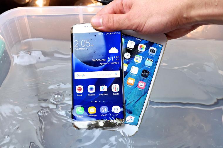Galaxy S7 edge водонепранецаемость