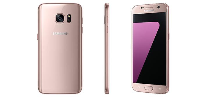 Galaxy S7 и S7 edge в цвете «розовое золото» - фото 1