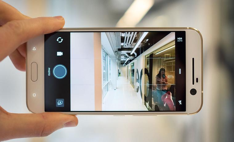 HTC 10 интерфейс камеры 2