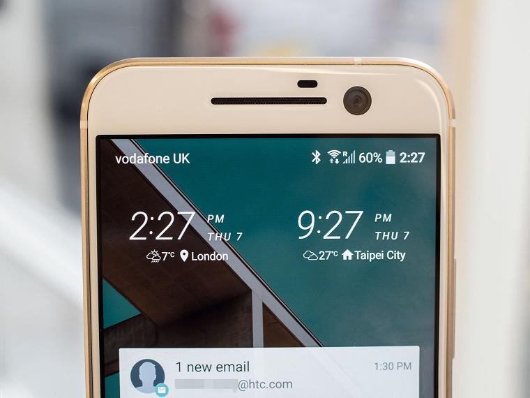 HTC 10 уведомления
