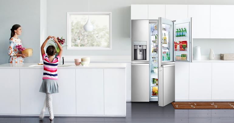 Холодильник-в интерьере фото 2