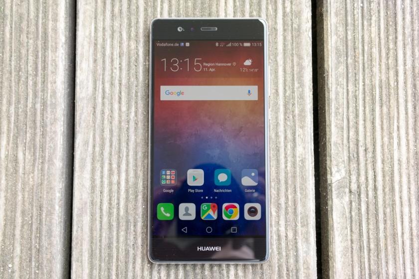 Huawei P9-экран фото 2