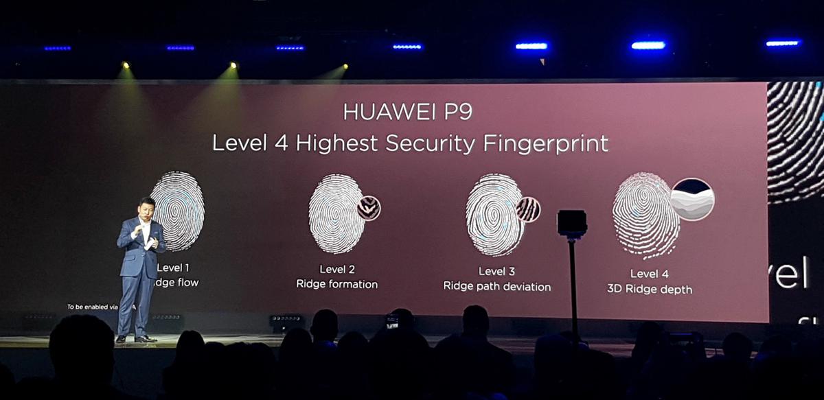 Huawei P9-сканер отпечатков пальцев быстрая работа