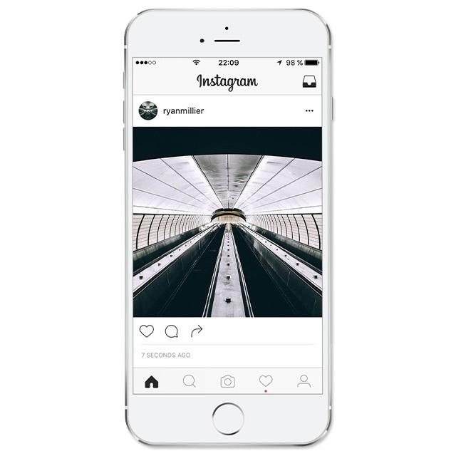 Instagram тестирует новый дизайн интерфейса