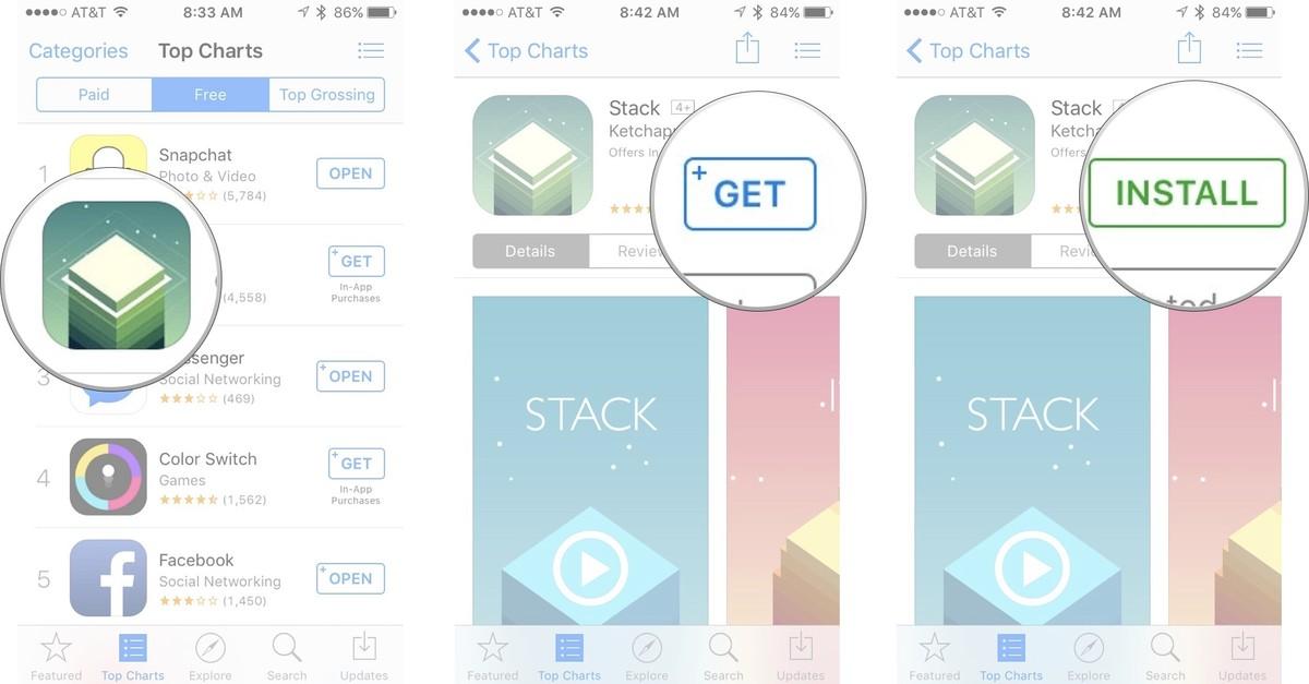 Как устанавливать приложения и игры на iPhone и iPad - Как загружать приложения