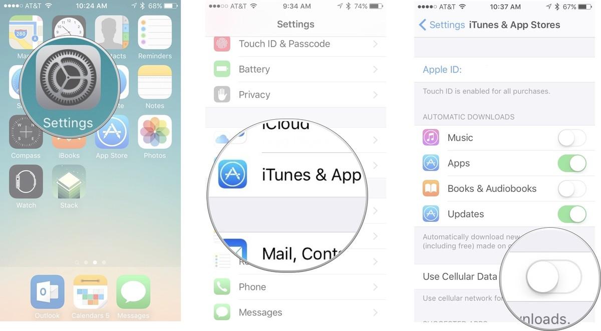 Как устанавливать приложения и игры на iPhone и iPad - только Wi-Fi