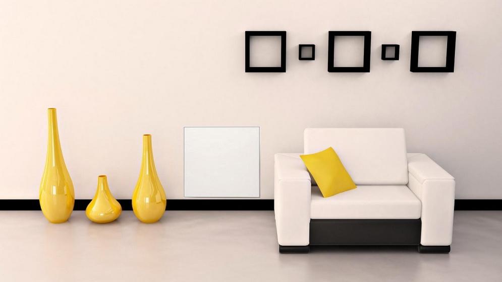Керамические обогреватели-в интерьере фото 2