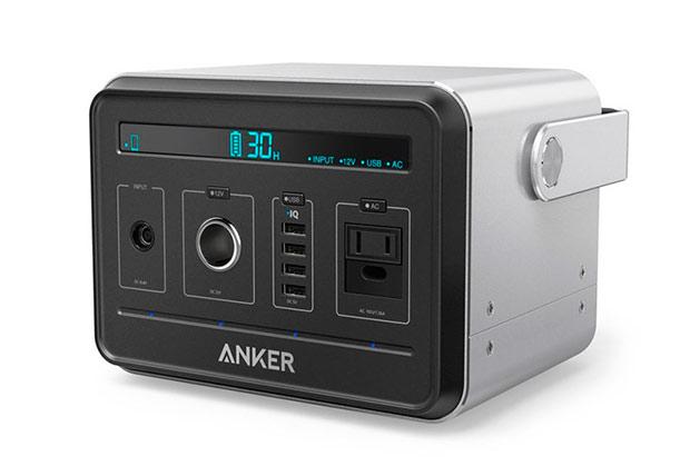 Компания Anker представила внешний аккумулятор емкостью 120 600 мАч