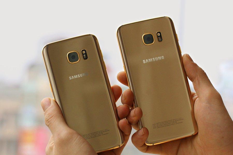 Компания Karalux выпустила позолоченные Galaxy S7 и Galaxy S7 Edge - фото 2