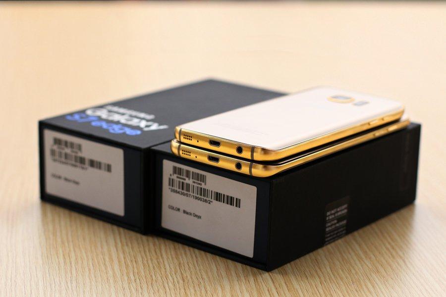 Компания Karalux выпустила позолоченные Galaxy S7 и Galaxy S7 Edge - главное фото