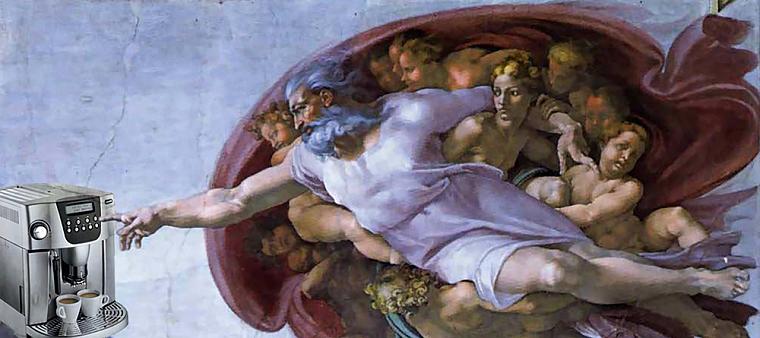 Мікеланджело Буонаротти «Створення Адама», 1511-1512