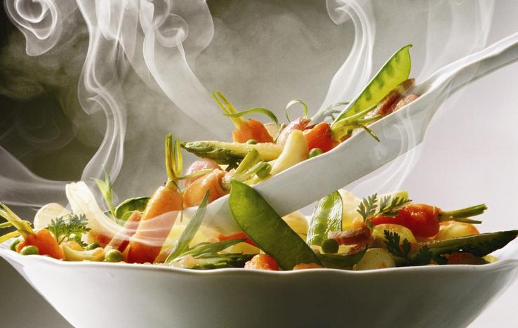 Микроволновая печь Samsung-Горячая еда к столу