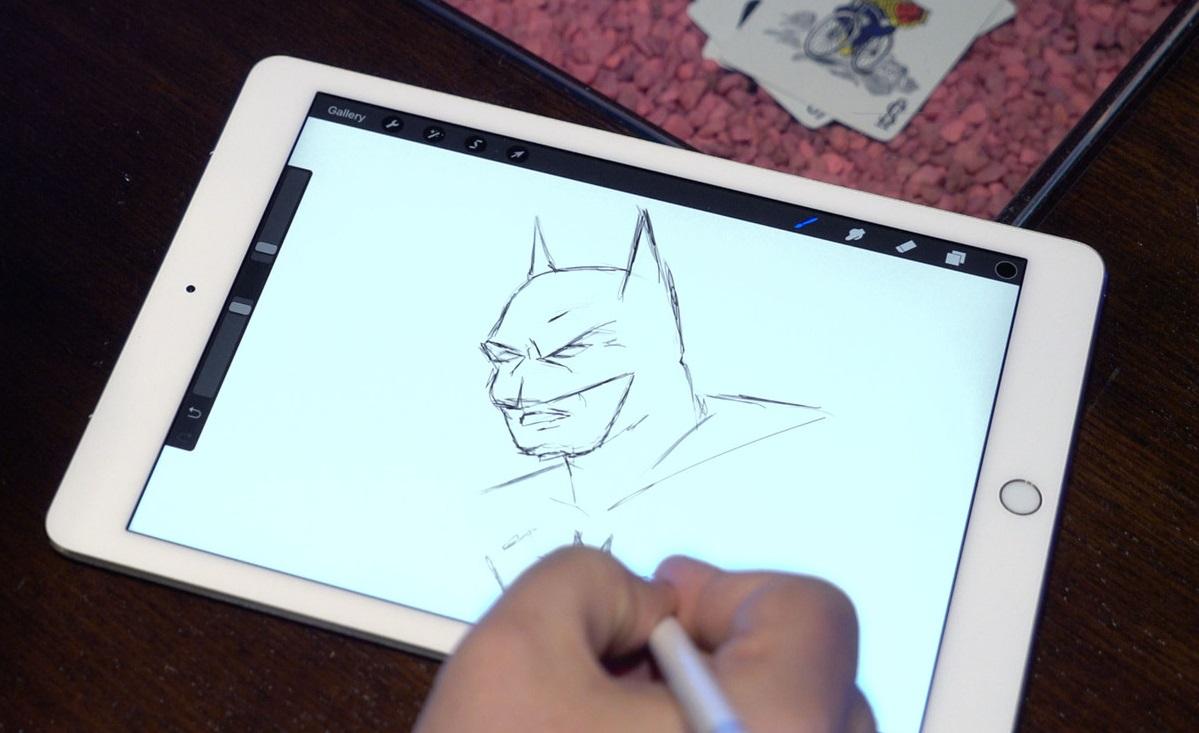 Обзор 9,7-дюймового iPad Pro - Apple pencil