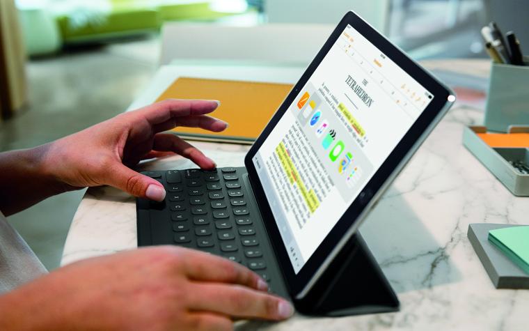 Обзор 9,7-дюймового iPad Pro клавиатура