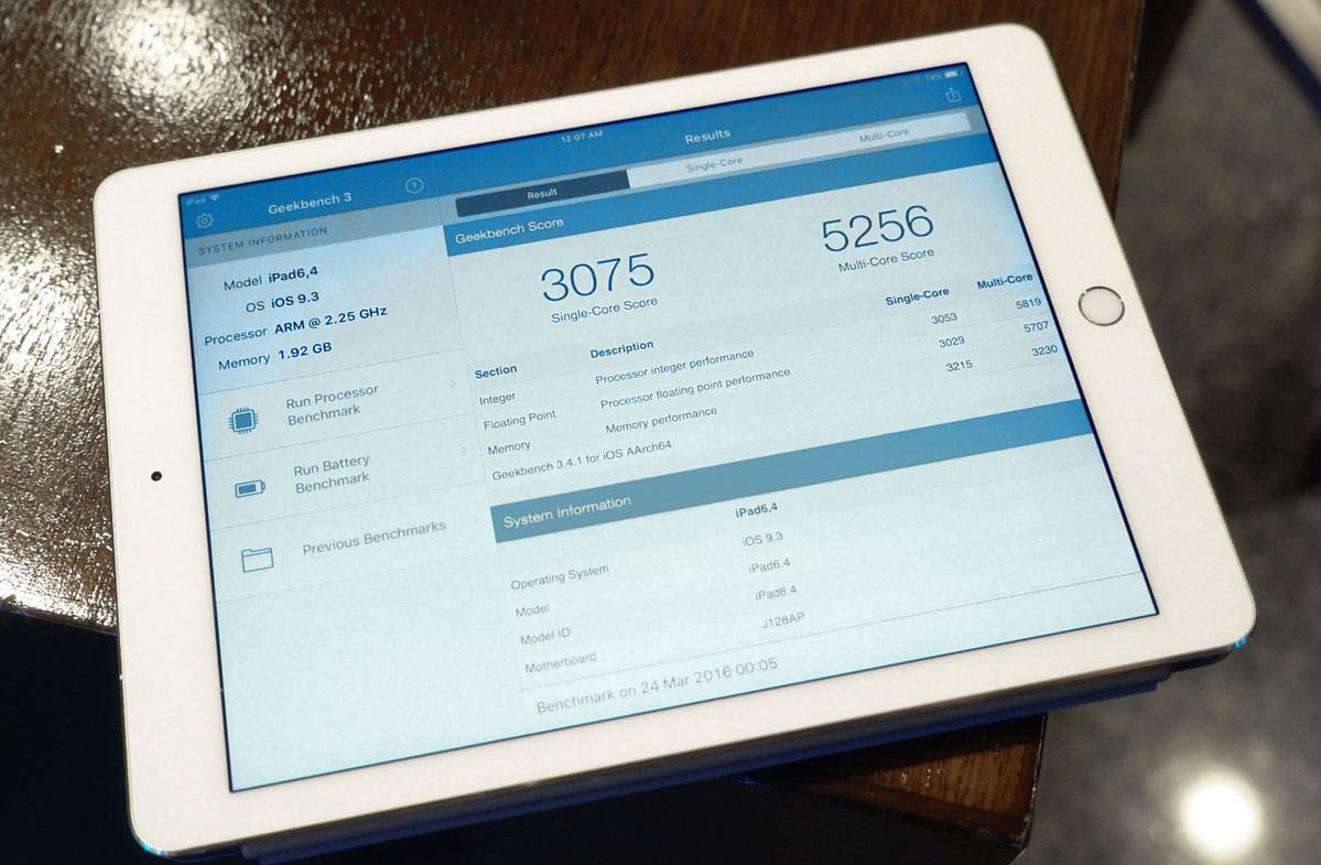 Обзор 9,7-дюймового iPad Pro - производительность