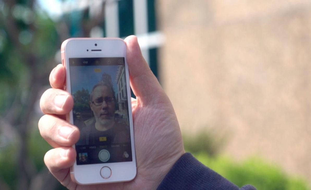 Обзор iPhone SE - фронтальная камера