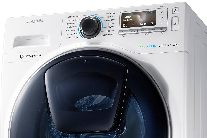 Обзор стиральной машины ww8500 - дверца addwash в закрытом виде